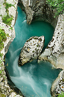 River Soca (&quot;Velika korita&quot;, &quot;Grand Canyon&quot;)<br /> Triglav National Park, Slovenia<br /> June 2009