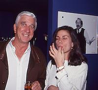 Leslie Nielsen &amp; Linda Fiorentino 1992 by<br /> Jonathan Green