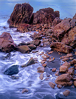 769550389 pacific ocean surf and waves break over sea stacks and boulders along the oregon coastline in harris state beach near brookings oregon