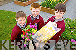 Children from Scoil Realta na Maidne announcing details of their fundraising concert A Salute to Spring presented by Kerry Choral Union in St Mary's Church  taking place this Friday night at 8pm.