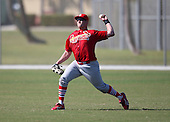 March 19, 2010:  Outfielder Mark Shorey of the St. Louis Cardinals organization during Spring Training at the Roger Dean Stadium Complex in Jupiter, FL.  Photo By Mike Janes/Four Seam Images