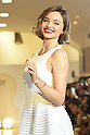 Australian supermodel Miranda Kerr attends a photo call for the Isetan X Samantha Thavasa DREAM Fashion Show on March 16, 2016, Tokyo, Japan. High end Japanese department store Isetan is collaborating with Samantha Thavasa for a new bag collection. (Photo by Shingo Ito/AFLO)
