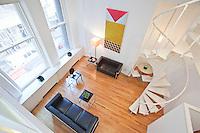 Living Room at 145 Nassau Street