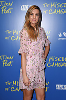 "Victoria Brown<br /> arriving for the premiere of ""The Miseducation of Cameron Post"" screening at Picturehouse Central, London<br /> <br /> ©Ash Knotek  D3424  22/08/2018"