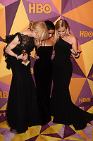 BEVERLY HILLS, CA - JANUARY 7: Nicole Kidman, Zoe Kravitz, Reese Witherspoon at the HBO Golden Globes After Party, Beverly Hilton, Beverly Hills, California on January 7, 2018. <br /> CAP/MPI/DE<br /> &copy;DE//MPI/Capital Pictures