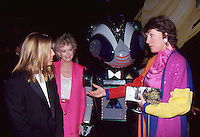 Majel Barrett Roddenberry & Son with June Lockhart