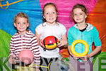 Summer camp fun at Killorglin Family Resource Centre. .L-R Clodagh O'Sullivan, Saoirse Fitzgerald and Aoife O'Sullivan