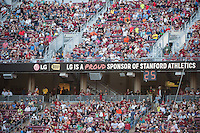 Stanford, Ca - September 2, 2016: The Stanford Cardinal vs the Kansas St Wildcats at Stanford Stadium. Final score Stanford 26, Kansas St 13.