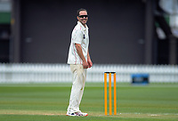 Canterbury's Todd Astle during day two of the Plunket Shield cricket match between the Wellington Firebirds and Canterbury at Basin Reserve in Wellington, New Zealand on Wednesday, 30 October 2019. Photo: Dave Lintott / lintottphoto.co.nz