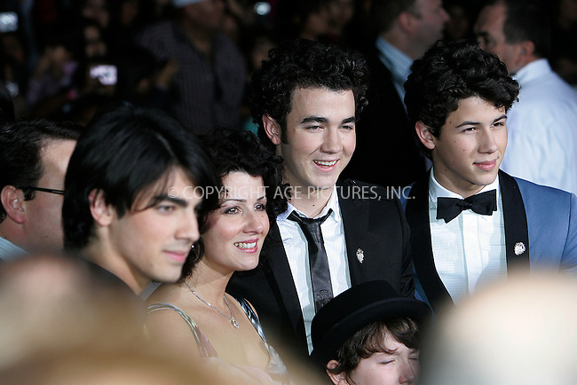 WWW.ACEPIXS.COM . . . . . ....February 24 2009, LA....The Jonas Brothers at the World Premiere of Walt Disney Pictures' 'Jonas Brothers: The 3D Concert Experience' on February 24, 2009 at the El Capitan Theatre in Hollywood, California.....Please byline: JOE WEST - ACEPIXS.COM....Ace Pictures, Inc:  ..(212) 243-8787 or (646) 679 0430..e-mail: picturedesk@acepixs.com..web: http://www.acepixs.com