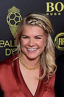 Ada Hegerberg<br /> Parigi 02-12-2019 <br /> Calcio <br /> Pallone D'oro 2019 <br /> Golden Ball 2019 <br /> Ballon d'or 2019 <br /> Foto JB Autissier / Panoramic / Insidefoto