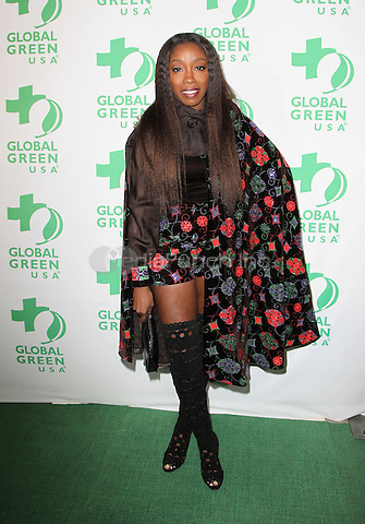 Hollywood, CA - February 22: Estelle, At 14th Annual Global Green Pre Oscar Party, At TAO Hollywood In California on February 22, 2017. Credit: Faye Sadou/MediaPunch