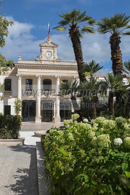 France, Gironde (33),Bassin d'Arcachon, Arcachon: l'Hôtel de ville //  France, Gironde, Bassin d'Arcachon, Arcachon:  the Town hall