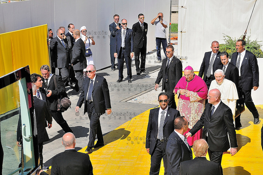 Palermo, Pope visit