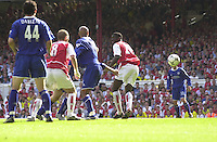 Premiership Football - Arsenal v Leicester City:.2003/04 Season - 15/05/2004  [Record breaking Season undefeated]..[Credit] Peter Spurrier Intersport Images