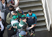 Mohammad Hafeez (Pakistan) poses for selfies with fans during Pakistan vs Sri Lanka, ICC World Cup Cricket at the Bristol County Ground on 7th June 2019