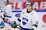 Södertälje 2013-02-02 Ishockey Allsvenskan , Södertälje SK - BIK Karlskoga :  .BIK Karlskoga 78 Daniel Zaar.(Byline: Foto: Kenta Jönsson) Nyckelord:  porträtt portrait