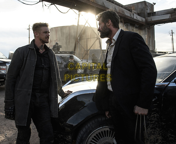 Logan (2017) <br /> Pierce (Boyd Holbrook) and Logan (Hugh Jackman) face off.<br /> *Filmstill - Editorial Use Only*<br /> CAP/KFS<br /> Image supplied by Capital Pictures