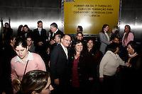 S&Atilde;O PAULO, 25 de JUNHO, 2012 - FORMATURA CUIDADOR DE PESSOAS COM DEFICI&Ecirc;NCIA - O Governador Geraldo Alckmin participou da Cerim&ocirc;nia de  Formatura da primeira turma de cuidadores de pessoas com defici&ecirc;ncia.<br /> A Secret&aacute;ria de Estado dos Direitos da Pessoa com Defici&ecirc;ncia, Dra. Linamara Rizzo Battistella, entregou aos 51 aprovados um certificado emitido pelo Centro Paula Souza. O evento contou com a presen&ccedil;a de alunos, professores, familiares e militantes da &aacute;rea da defici&ecirc;ncia. Segunda-feira, 25 - FOTO: LOLA OLIVEIRA - BRAZIL PHOTO PRESS