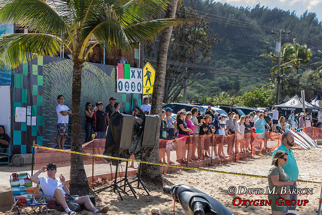 Surfing Competition, Sunset Beach