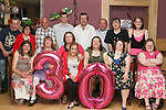 Brid Heeney's 30th in The Thatch...Photo NEWSFILE/Jenny Matthews.(Photo credit should read Jenny Matthews/NEWSFILE)....This Picture has been sent you under the condtions enclosed by:.Newsfile Ltd..The Studio,.Millmount Abbey,.Drogheda,.Co Meath..Ireland..Tel: +353(0)41-9871240.Fax: +353(0)41-9871260.GSM: +353(0)86-2500958.email: pictures@newsfile.ie.www.newsfile.ie.FTP: 193.120.102.198.