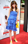 UNIVERSAL CITY, CA. - March 21: Bella Thorne arrives at the premiere of ''How To Train Your Dragon'' at Gibson Amphitheater on March 21, 2010 in Universal City, California.