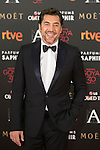 Spanish actor Javier Bardem attends 30th Goya Awards red carpet in Madrid, Spain. February 06, 2016. (ALTERPHOTOS/Victor Blanco)