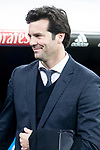 Coach Santiago Solari of Real Madrid during King's Cup 2018-2019 match between Real Madrid and CD Leganes at Santiago Bernabeu Stadium in Madrid, Spain. January 09, 2019. (ALTERPHOTOS/Borja B.Hojas)