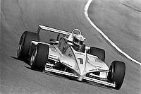 HAMPTON, GA - APRIL 17: Rick Mears drives his Penske PC11/Cosworth during the Kraco Dixie 200 CART Indy Car race at the Atlanta Motor Speedway near Hampton, Georgia, on April 17, 1983.