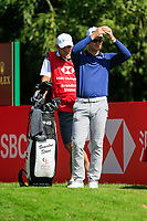 Brandon Stone (RSA) on the 16th tee during the 3rd round at the WGC HSBC Champions 2018, Sheshan Golf CLub, Shanghai, China. 27/10/2018.<br /> Picture Fran Caffrey / Golffile.ie<br /> <br /> All photo usage must carry mandatory copyright credit (&copy; Golffile | Fran Caffrey)