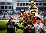 LOUISVILLE, KENTUCKY - MAY 04:  Country House and Flavien Prat wins the Kentucky Derby at Churchill Downs in Louisville, Kentucky on May 04, 2019. Evers/Eclipse Sportswire/CSM