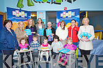 TDDLER GROUP: A seminar was held at Toby World, on Thursday Mile Height, Park, Tralee by the Kerry County Childcare Committee Limited, on Thursday attending were Front l-r: Emily Flynn(Duagh), Patrick Morris , Katelyn Murphy Abigail Collins and Mary Morris (Glencar). Back l-r: Katie Flynn (Duagh), Kathryn O'Donnell, Denise Quinlan (speaker), Pamela Curran,Catherine Callaghan, Maria O'Reilly, Catherine Murphy and Una Fleming. .
