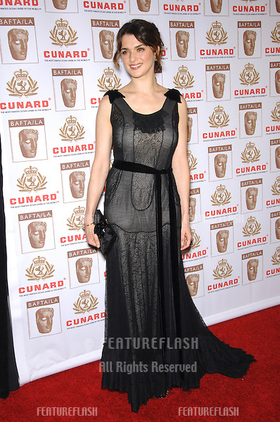 RACHEL WEISZ - Britannia Award Artist of the Year - at the 2006 BAFTA/LA Cunard Britannia Awards at the Century Plaza Hotel, Los Angeles..November 2, 2006  Los Angeles, CA.Picture: Paul Smith / Featureflash