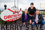 Launching Firies Christmas Market on Sunday 6th of December at 12 noon, were l-r David Gleeson, Margaret O'Connor and Mike McKenna