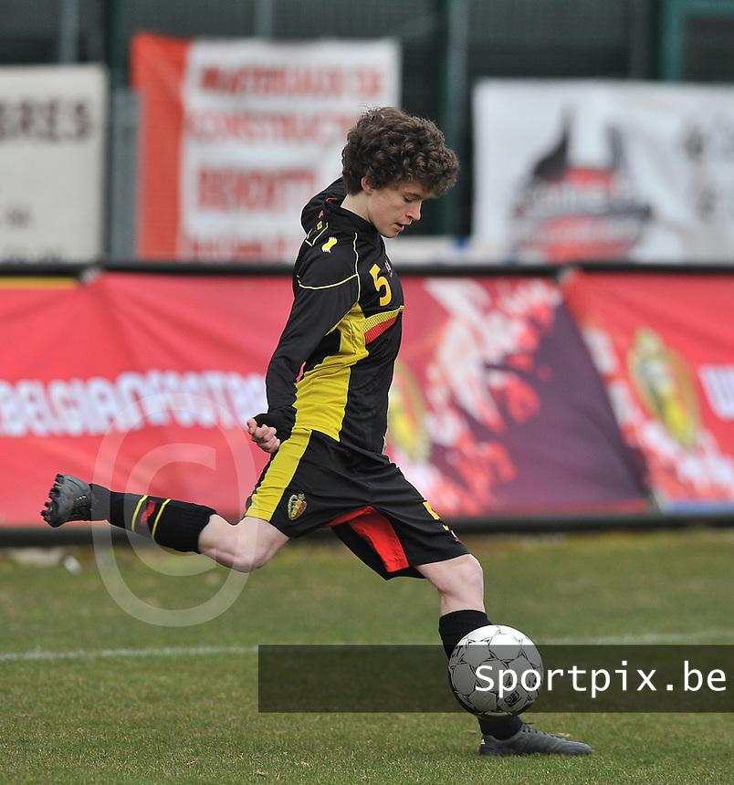 France U19 - Belgium U19 : Tinne Van Den Bergh.foto DAVID CATRY / Nikonpro.be
