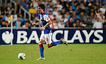 SO KON PO, HONG KONG - JULY 30: Mauro Fomica of Blackburn Rovers in action during the Asia Trophy pre-season friendly match against Kitchee at the Hong Kong Stadium on July 30, 2011 in So Kon Po, Hong Kong.  Photo by Victor Fraile / The Power of Sport Images