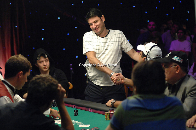 Alex Brenes is eliminated in level 12 at the TV feature table.
