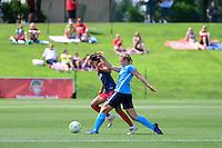 Boyds, MD - Sunday July 31, 2016: Caprice Dydasco, Leah Galton during a regular season National Women's Soccer League (NWSL) match between the Washington Spirit and Sky Blue FC at Maureen Hendricks Field, Maryland SoccerPlex. The Washington Spirit defeated Sky Blue FC 3-1.