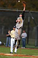 February 27, 2010:  First Baseman Sean Flanagan of the Iowa Hawkeyes during the Big East/Big 10 Challenge at Raymond Naimoli Complex in St. Petersburg, FL.  Photo By Mike Janes/Four Seam Images