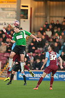 Mike Symons (Worcester)<br />  - Scunthorpe United vs Worcester City - FA Challenge Cup 2nd Round Football at Glanford Park, Scunthorpe - 07/12/14 - MANDATORY CREDIT: Mark Hodsman/TGSPHOTO - Self billing applies where appropriate - contact@tgsphoto.co.uk - NO UNPAID USE