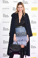 LONDON, UK. November 22, 2016: Petra Nemcova at The Design Museum VIP launch party in Kensington, London.<br /> Picture: Steve Vas/Featureflash/SilverHub 0208 004 5359/ 07711 972644 Editors@silverhubmedia.com