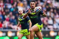 Picture by Alex Whitehead/SWpix.com - 11/03/2018 - Rugby League - Betfred Super League - Wigan Warriors v Wakefield Trinity - DW Stadium, Wigan, England - Wakefield's Tinirau Arona.