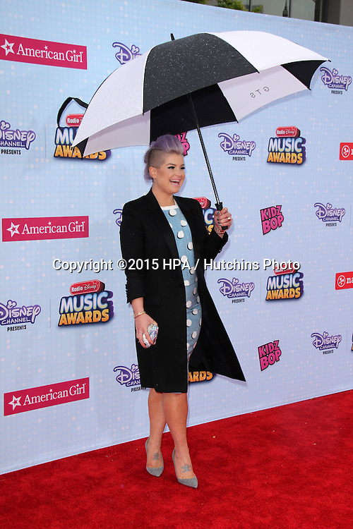 LOS ANGELES - FEB 25:  Kelly Osbourne at the Radio DIsney Music Awards 2015 at the Nokia Theater on April 25, 2015 in Los Angeles, CA