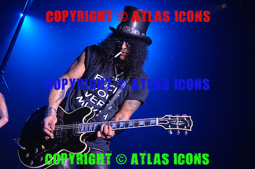 Slash of Velvet Revolver performs at the Nokia Theater on May 22, 2007 in New York City