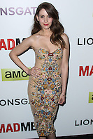 "HOLLYWOOD, LOS ANGELES, CA, USA - APRIL 02: Alison Brie at the Los Angeles Premiere Of AMC's ""Mad Men"" Season 7 held at ArcLight Cinemas on April 2, 2014 in Hollywood, Los Angeles, California, United States. (Photo by Xavier Collin/Celebrity Monitor)"