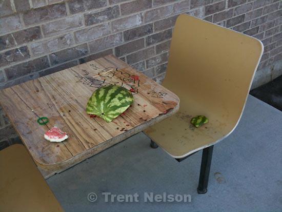 . Sunday, October 18 2009.watermelon