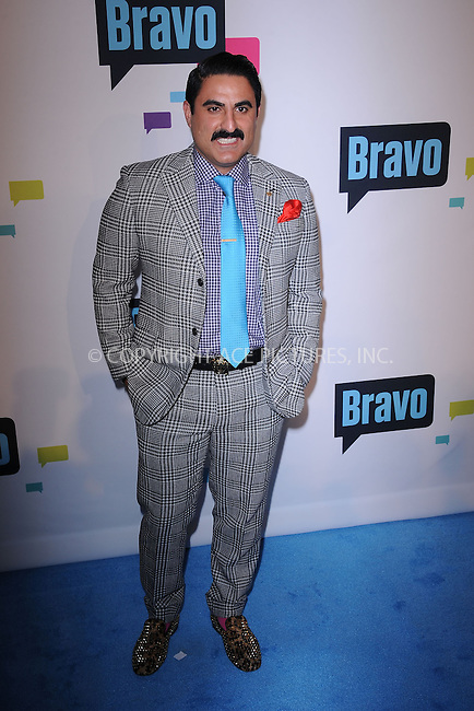WWW.ACEPIXS.COM . . . . . .April 3, 2013...New York City....Reza Farahan attends the 2013 Bravo New York Upfront at Pillars 37 Studios on April 3, 2013 in New York City ....Please byline: KRISTIN CALLAHAN - ACEPIXS.COM.. . . . . . ..Ace Pictures, Inc: ..tel: (212) 243 8787 or (646) 769 0430..e-mail: info@acepixs.com..web: http://www.acepixs.com .