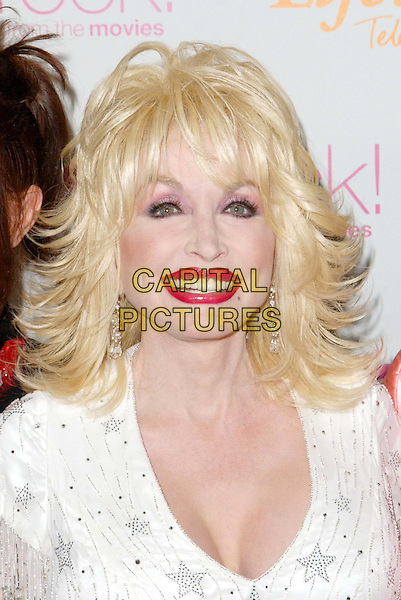 DOLLY PARTON.4th Annual Women Rock! Songs from the Movies Concert for the fight against breast cancer, Kodak Theatre .headshot, portrait, red lipstick, heavy make-up.www.capitalpictures.com.sales@capitalpictures.com.©Capital Pictures.