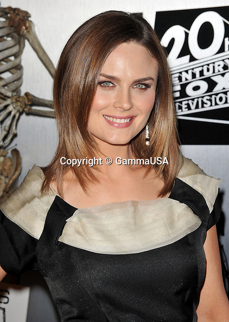 Emily Deschanel _16   -<br /> Bones 100th episodes Celebration at  650 North Club In Los Angeles.