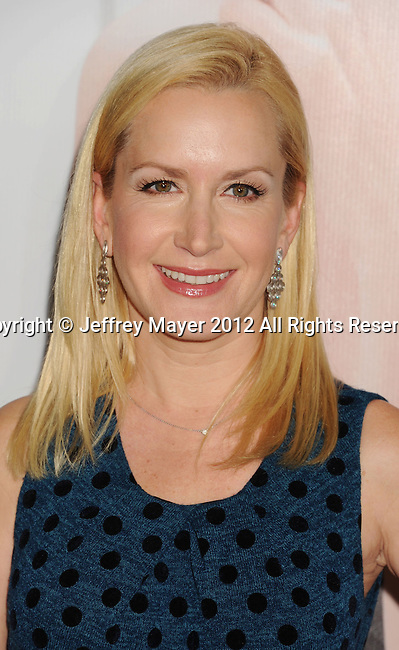 HOLLYWOOD, CA - DECEMBER 12: Angela Kinsey arrives at the 'This Is 40' - Los Angeles Premiere at Grauman's Chinese Theatre on December 12, 2012 in Hollywood, California.